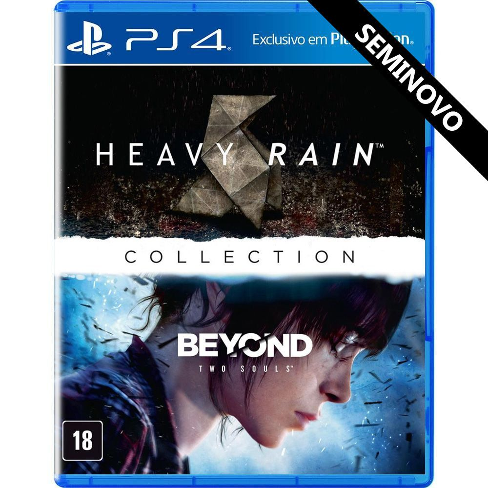 The Heavy Rain and Beyond Two Souls Collection - PS4 (Seminovo)