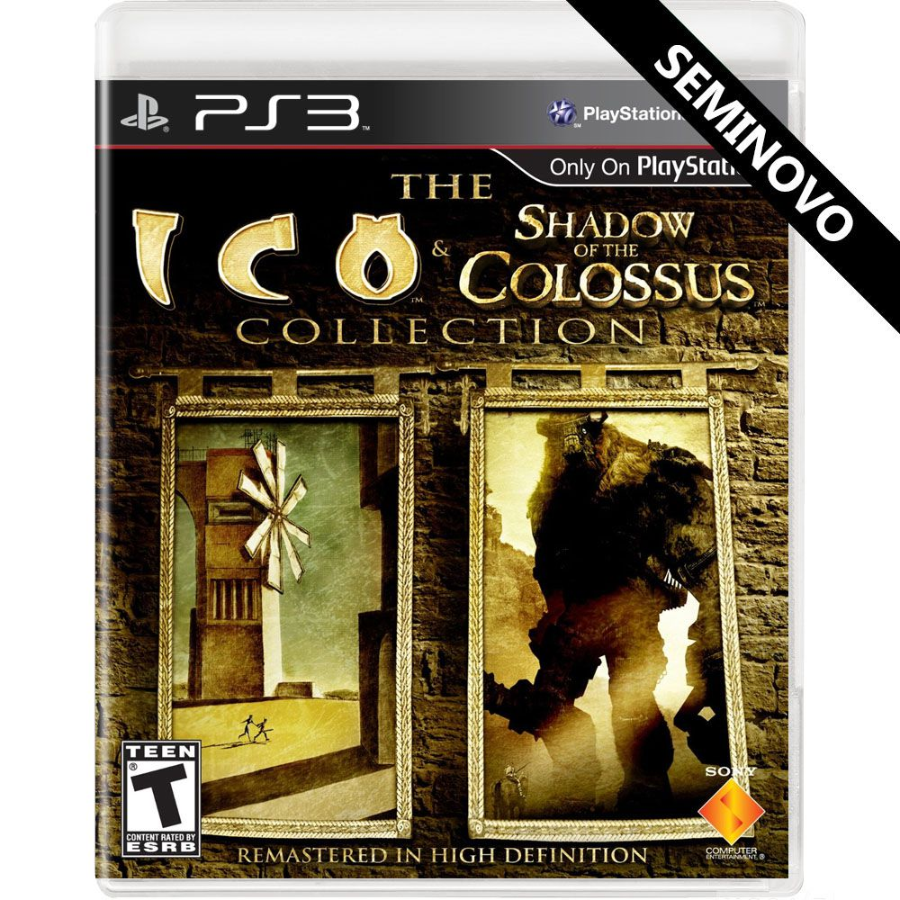 The Ico & Shadow of the Colossus Collection - PS3 (Seminovo)