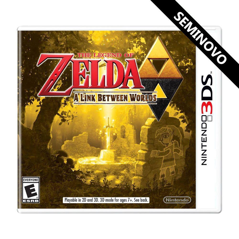 The Legend of Zelda A Link Between World - 3DS (Seminovo)