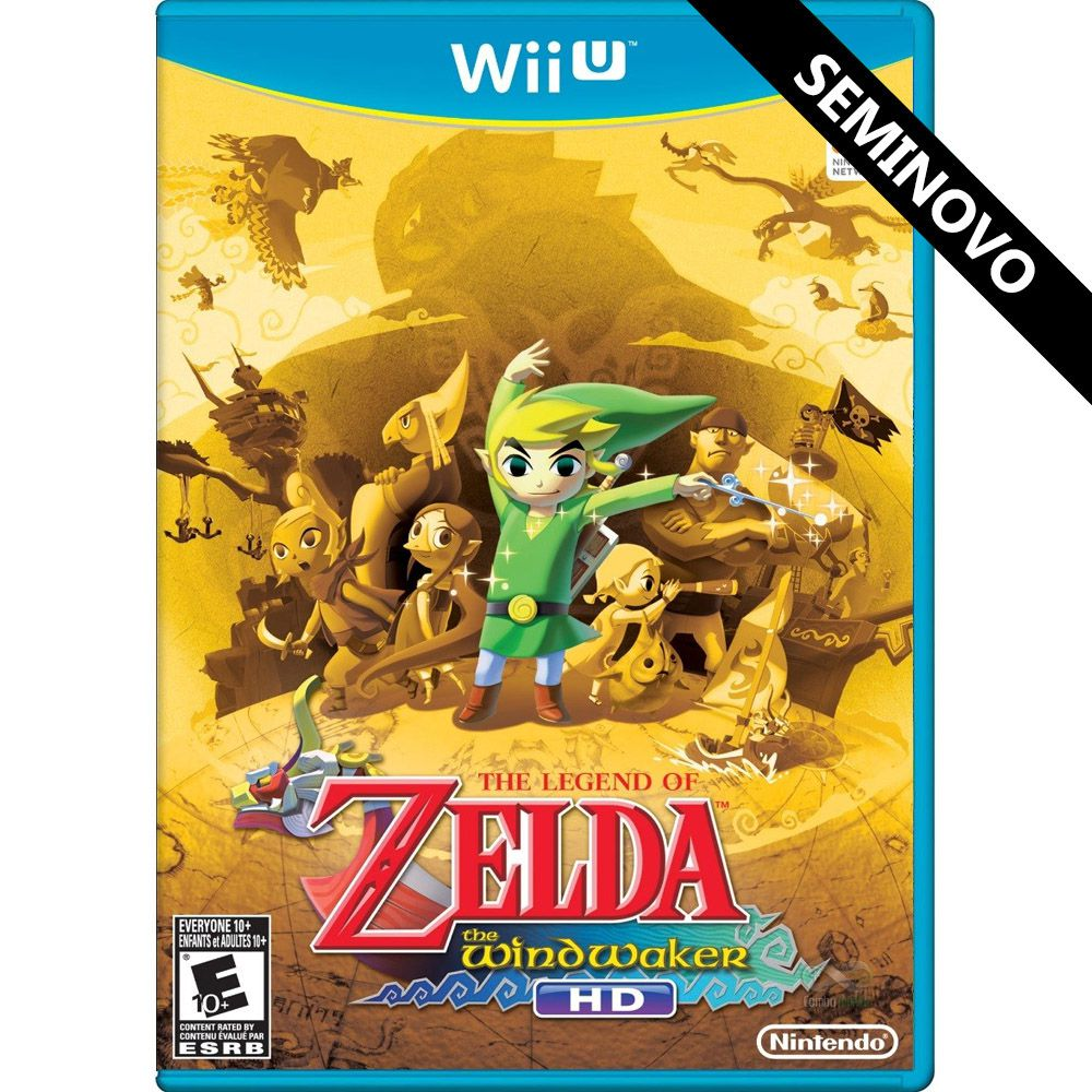 The Legend of Zelda The Wind Waker HD - Wii U (Seminovo)