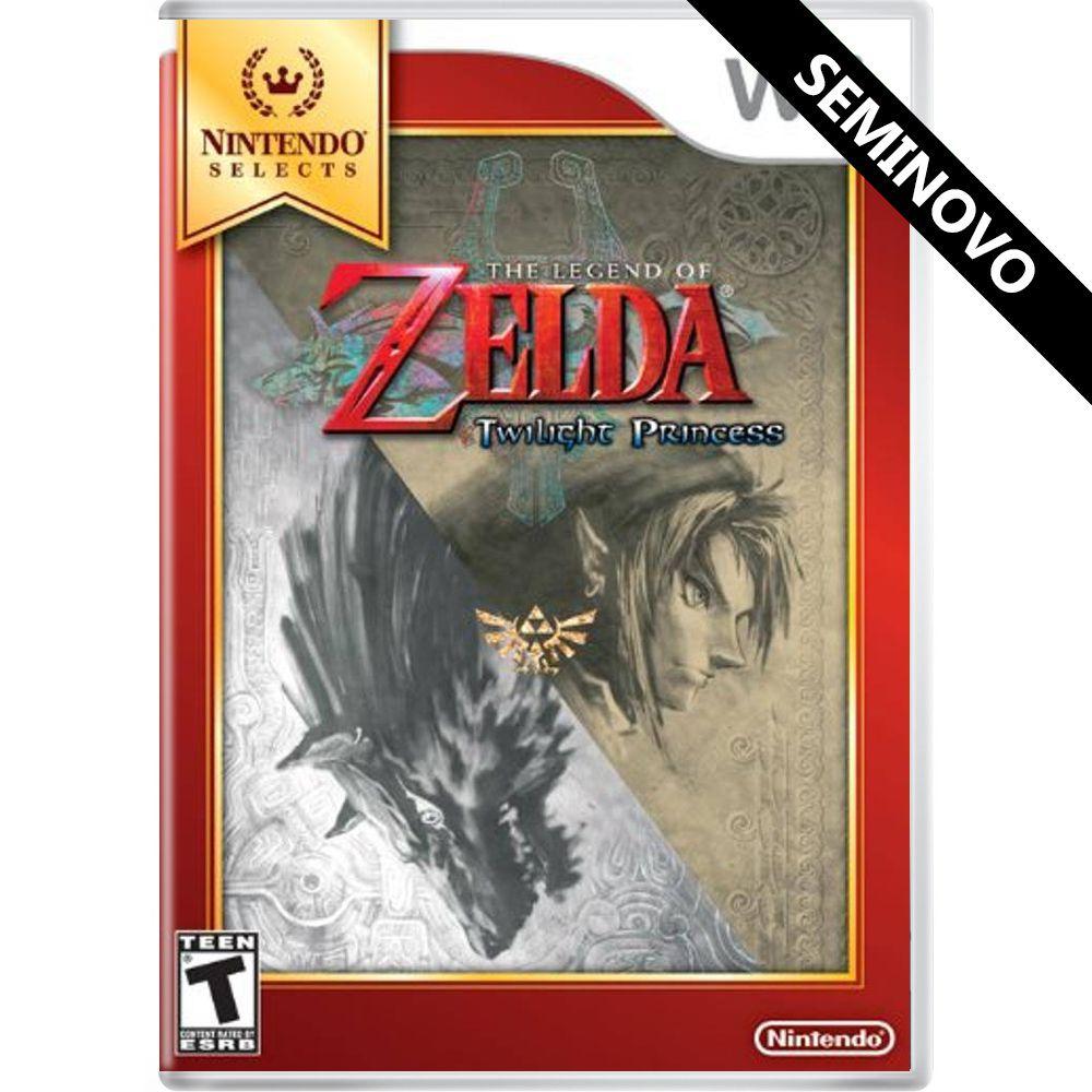 The Legend of Zelda: Twilight Princess - Wii (Seminovo)