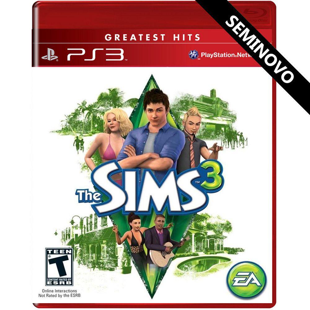 The Sims 3 - PS3 (Seminovo)