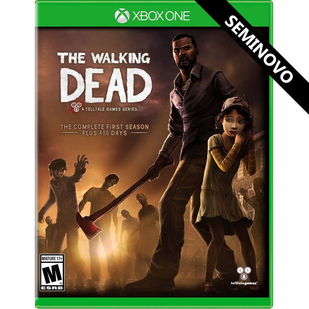 The Walking Dead The Complete First Season Plus 400 days - Xbox One (Seminovo)