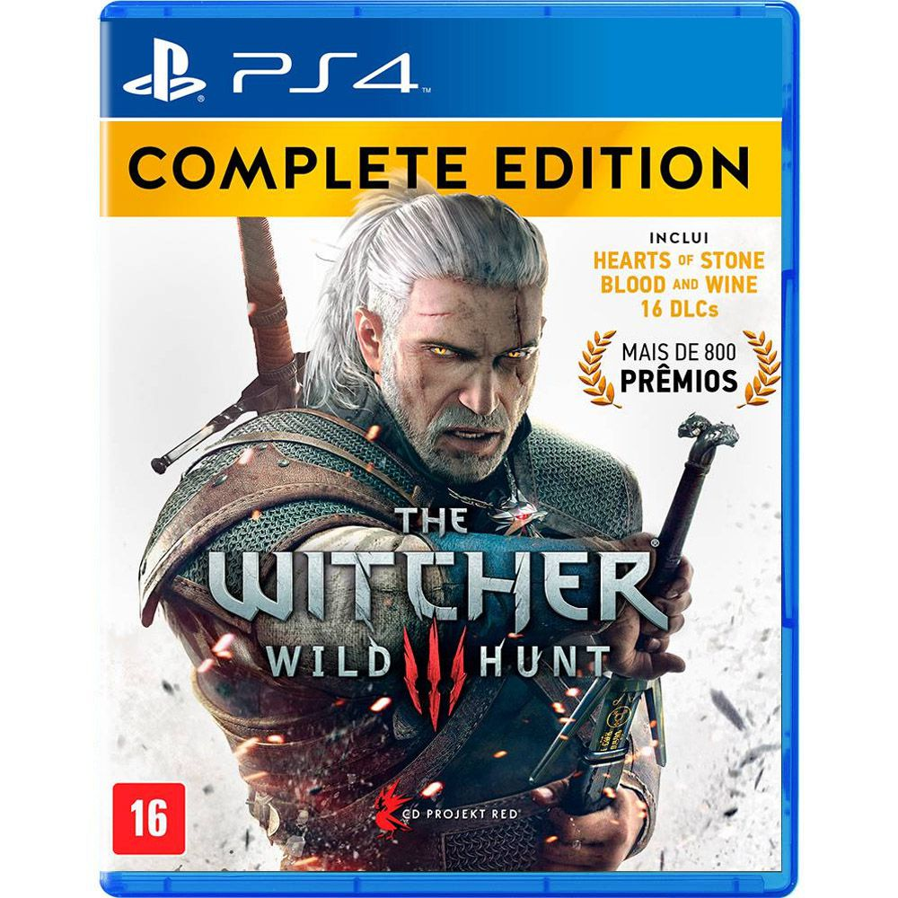 The Witcher III Wild Hunt Complete Edition - PS4