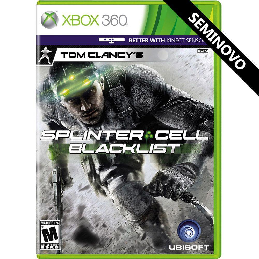 Tom Clancys Splinter Cell Blacklist - Xbox 360 (Seminovo)