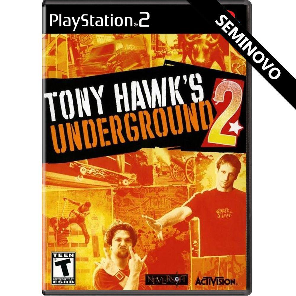 Tony Hawks Underground 2 - PS2 (Seminovo)
