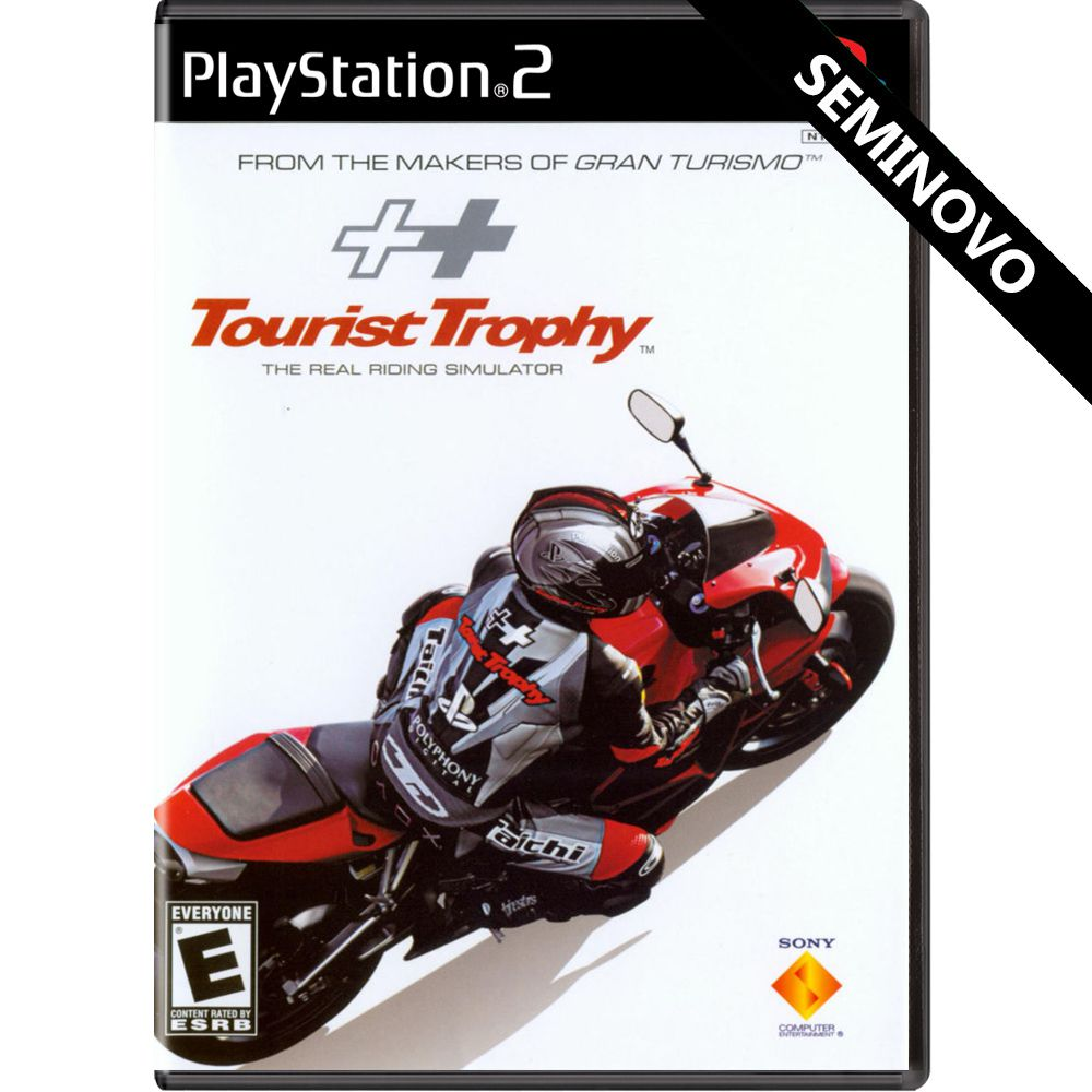 Tourist Trophy - PS2 (Seminovo)