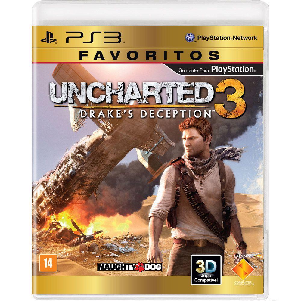 Uncharted 3 Drakes Deception (Coleção Favoritos) - PS3