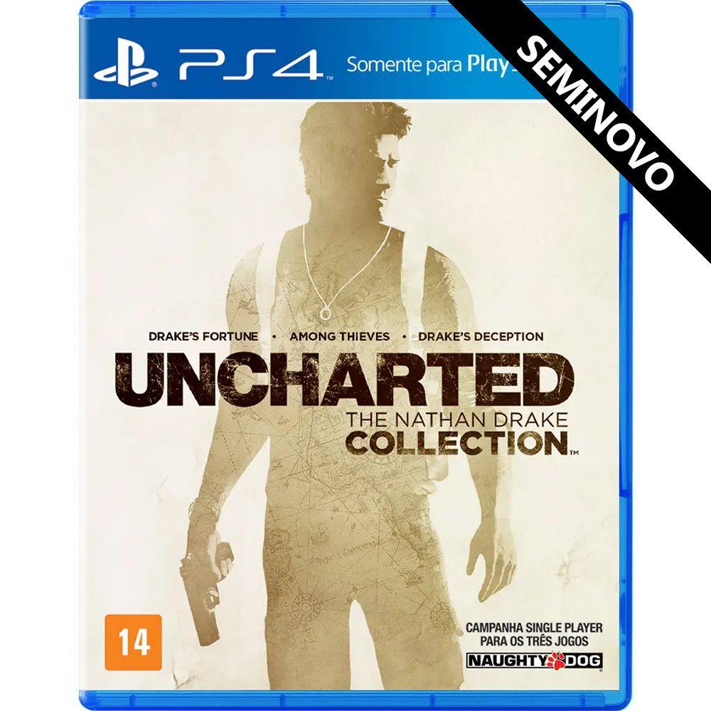Uncharted The Nathan Drake Collection - PS4 (Seminovo)