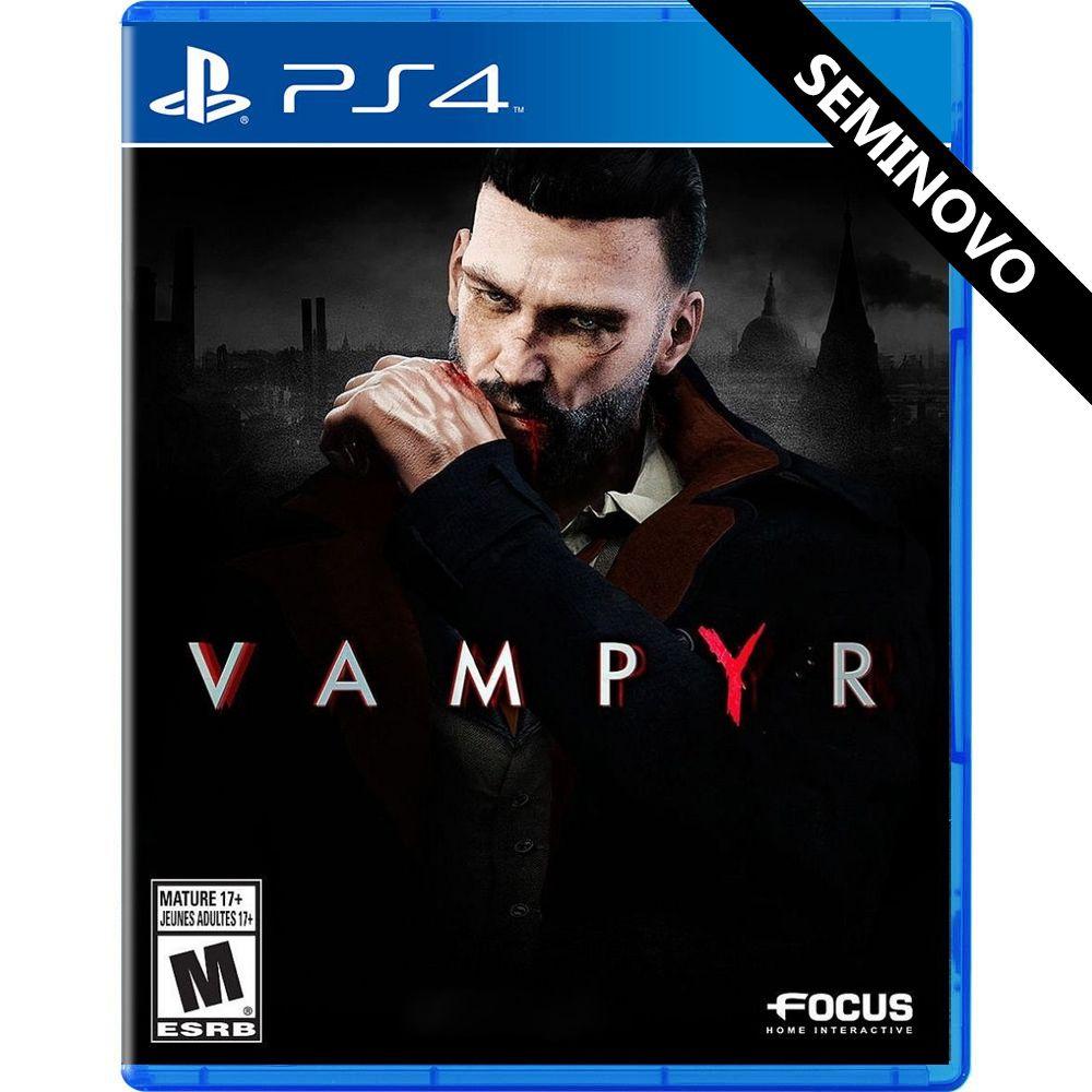 Vampyr - PS4 (Seminovo)
