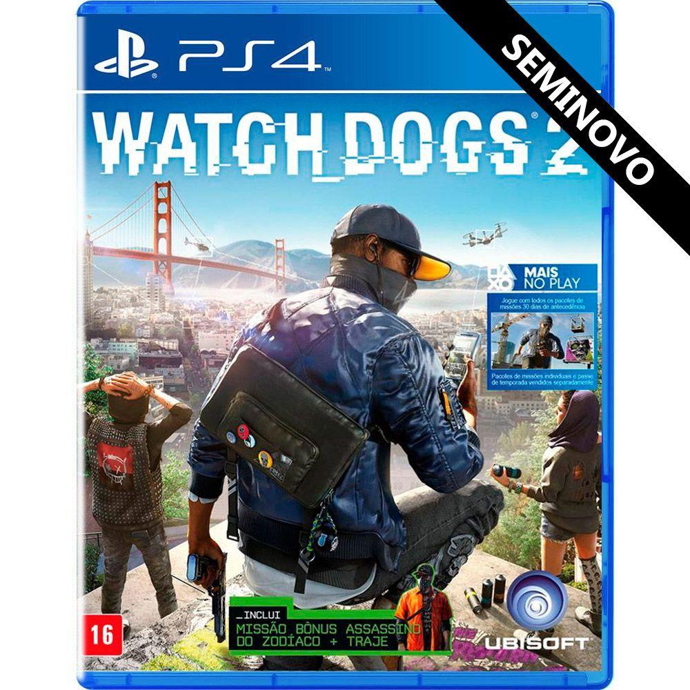 Watch Dogs 2 - PS4 (Seminovo)