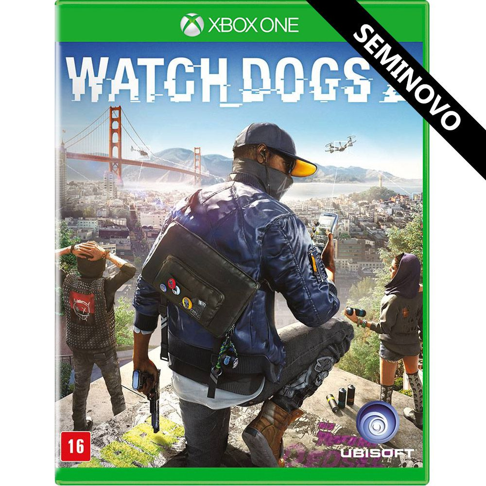 Watch Dogs 2 - Xbox One (Seminovo)