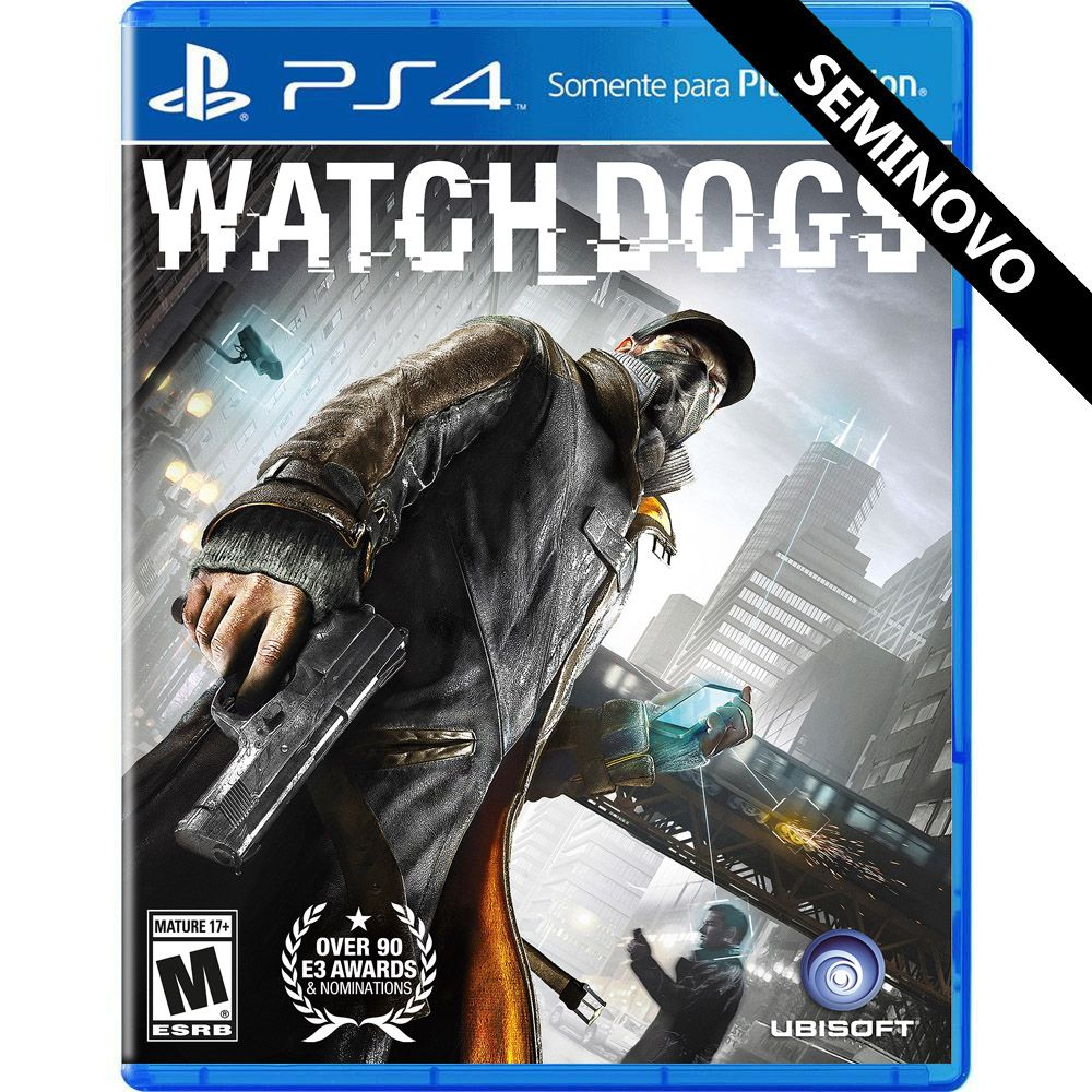 Watch Dogs - PS4 (Seminovo)