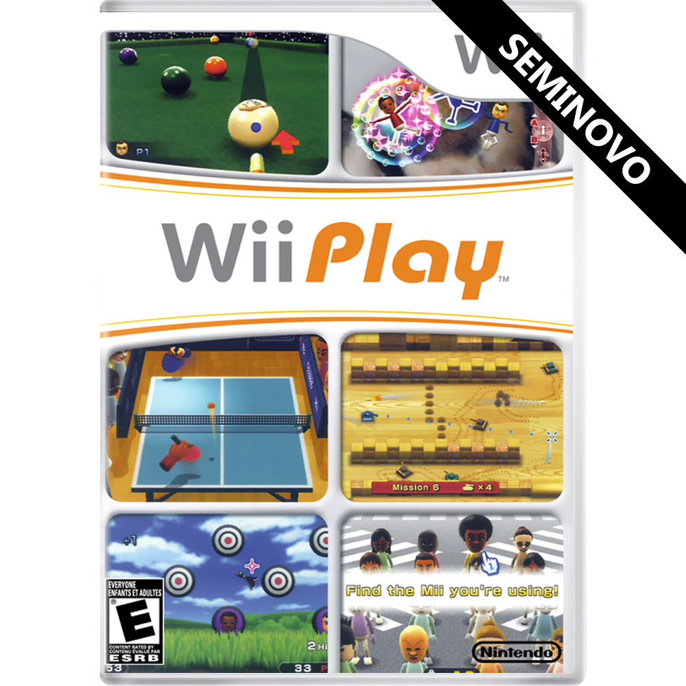 Wii Play - Wii (Seminovo)