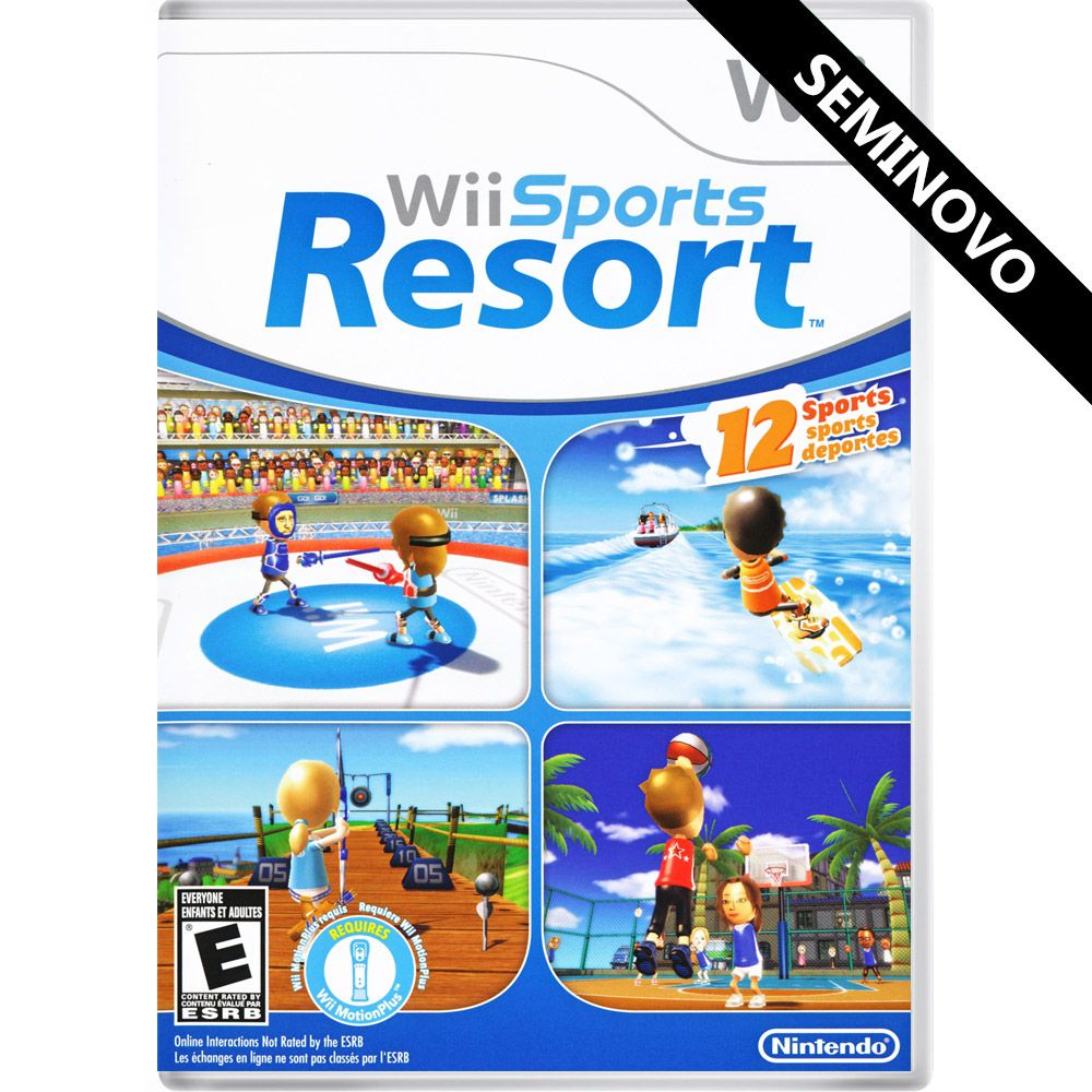 Wii Sports Resort - Wii (Seminovo)