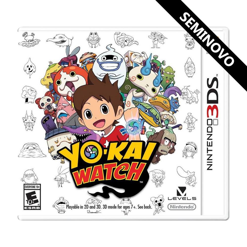 Yo-Kai Watch - 3DS (Seminovo)