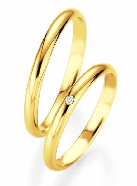Aliança de Ouro 3mm