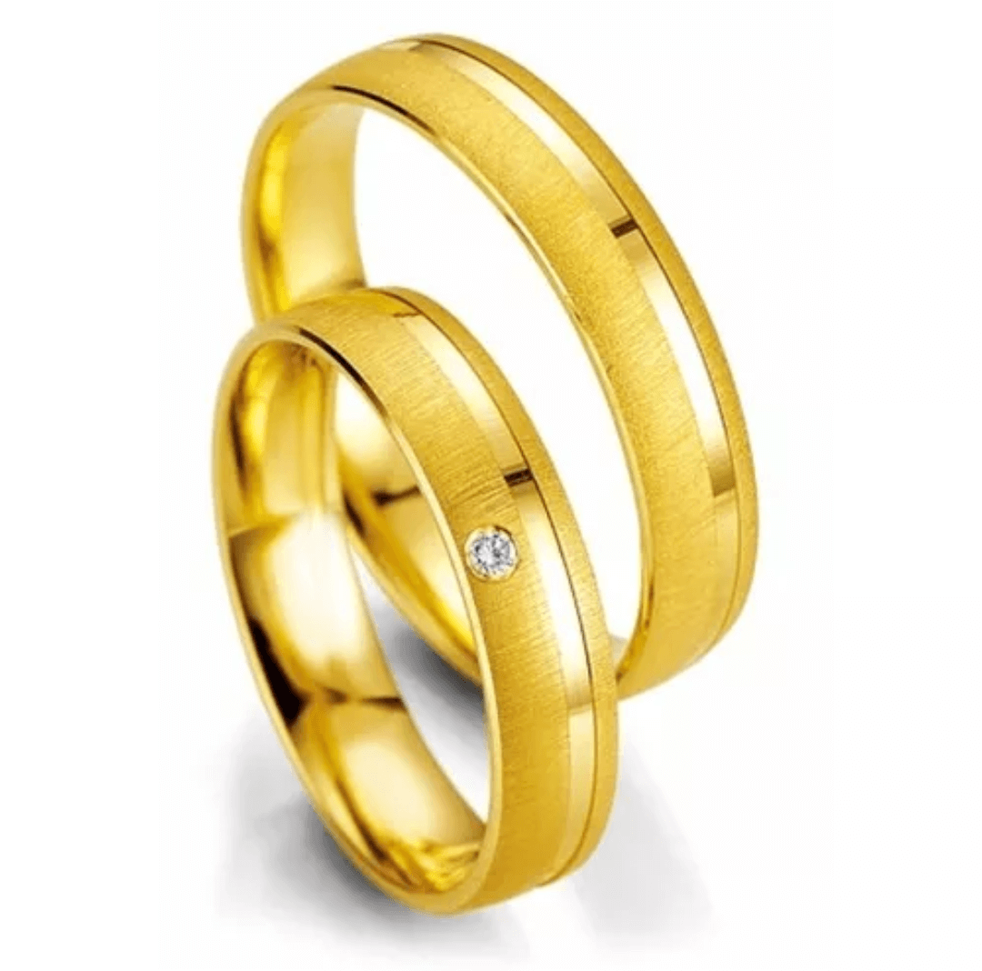 Aliança de  Ouro 6mm