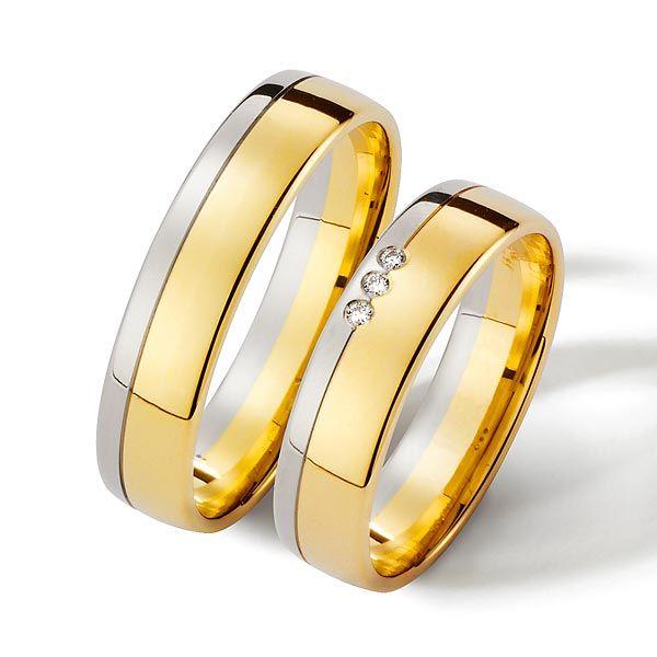 Aliança de  Ouro e Prata 7mm