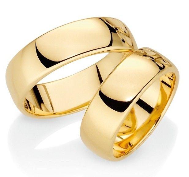Aliança de Ouro 7mm
