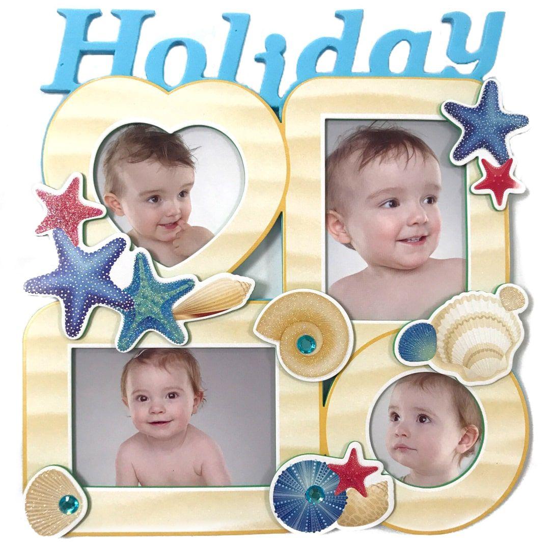 Adesivo de Parede com Porta Retrato Infantil Jacki Design