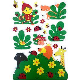Adesivo de Parede Infantil Jacki Design