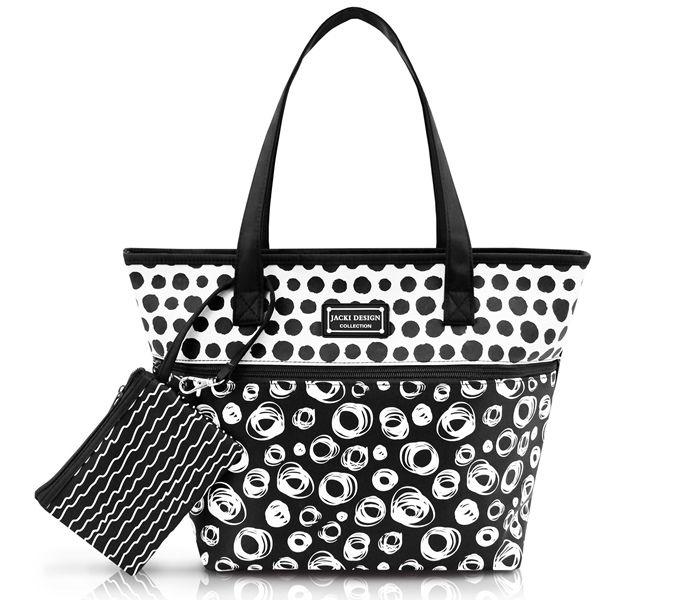 Bolsa com Niqueleira Bolinha Jacki Design Pop Art