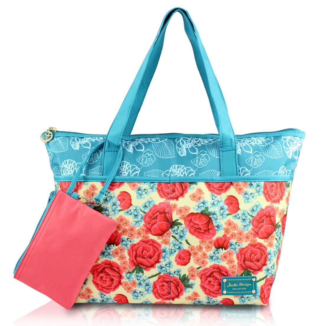 Bolsa com Niqueleira Jacki Design Miss Cherie