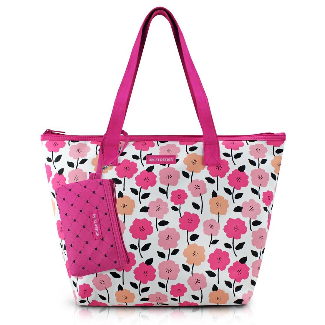 Bolsa com Niqueleira Pink Lover Jacki Design