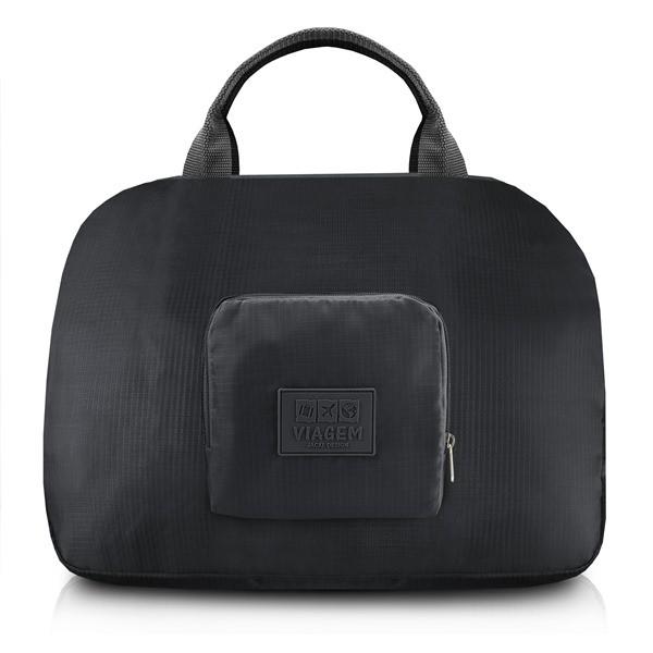 Bolsa de Viagem Dobrável Trapézio Estampa Lisa Jacki Design