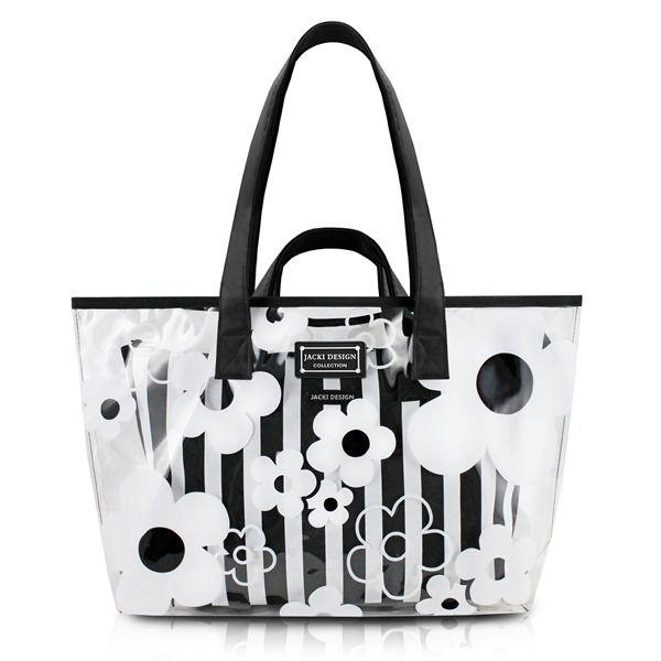 Bolsa Transparente com 2 Peças Bem-Me-Quer Jacki Design