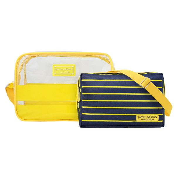 Bolsa Transversal com 2 Peças Jacki Design Felicitá