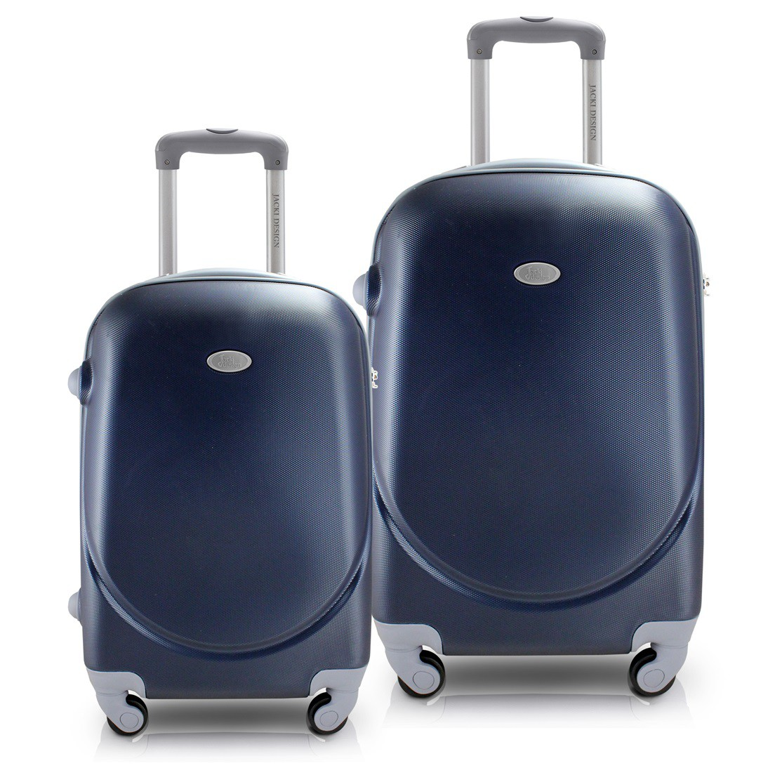 Conjunto de Mala de Viagem com 2 Peças Select Azul Jacki Design