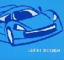 Carro Azul Claro