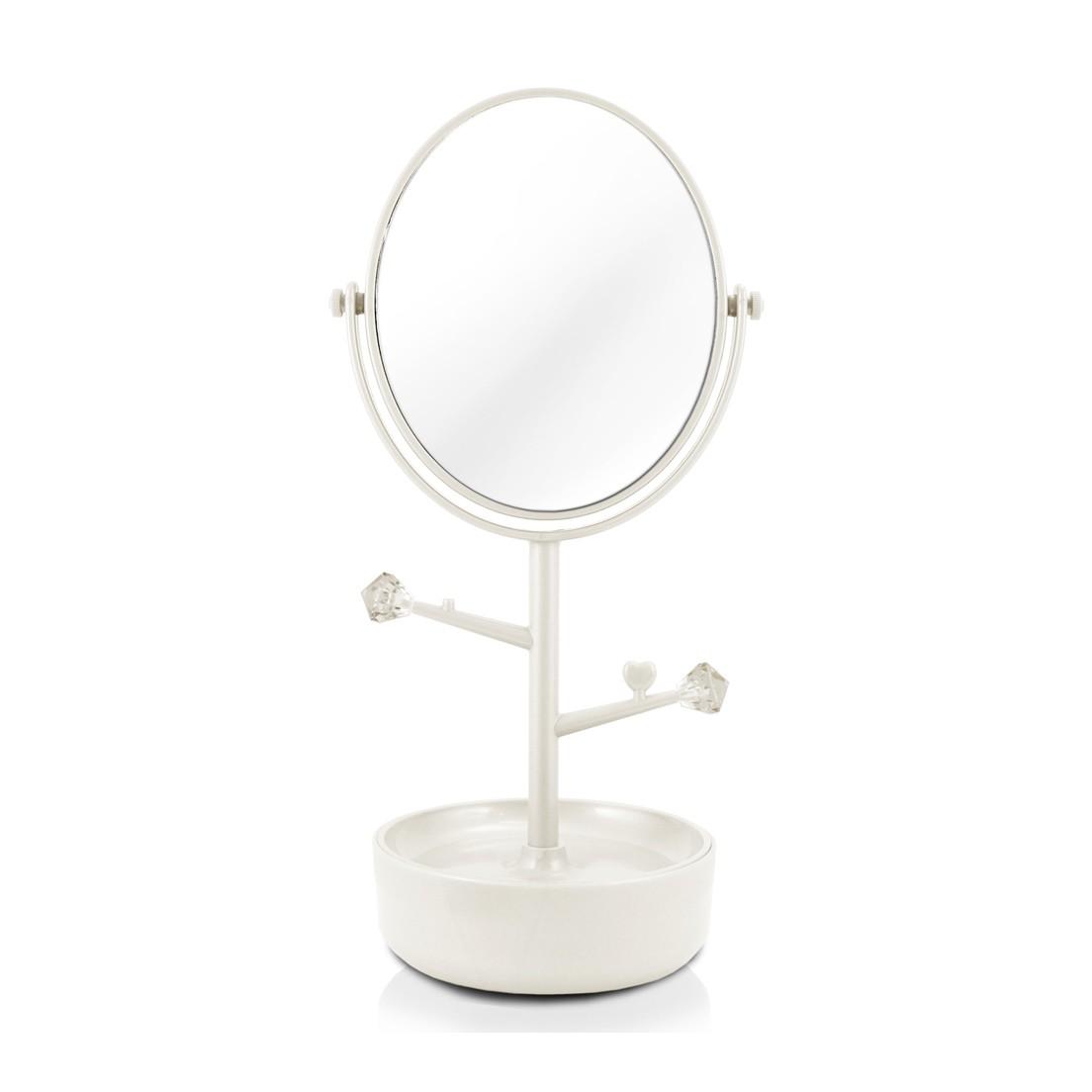 Espelho de Mesa com compartimento para Jóias Jacki Design
