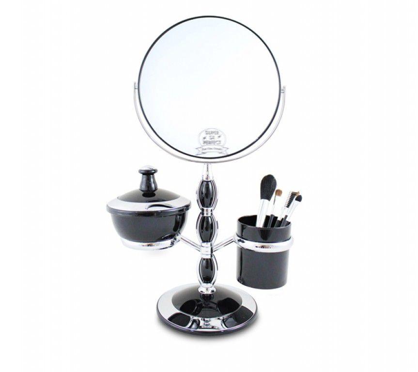 Espelho de Mesa com Pincéis e Suportes Jacki Design