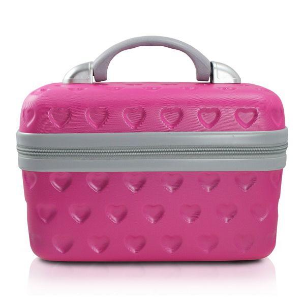 Frasqueira Love Trapézio Pink Jacki Design