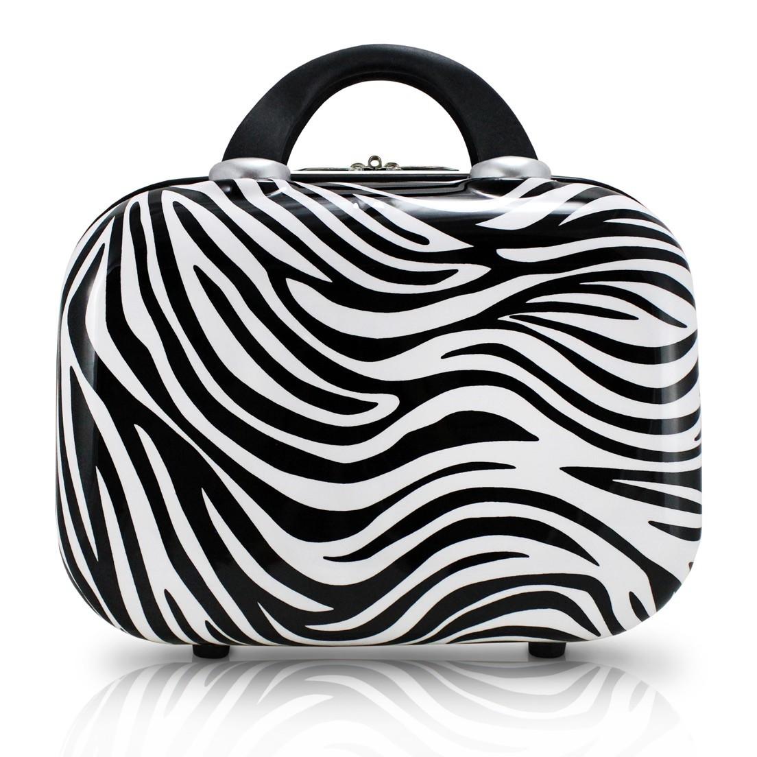 Frasqueira Zebra Preto Jacki Design