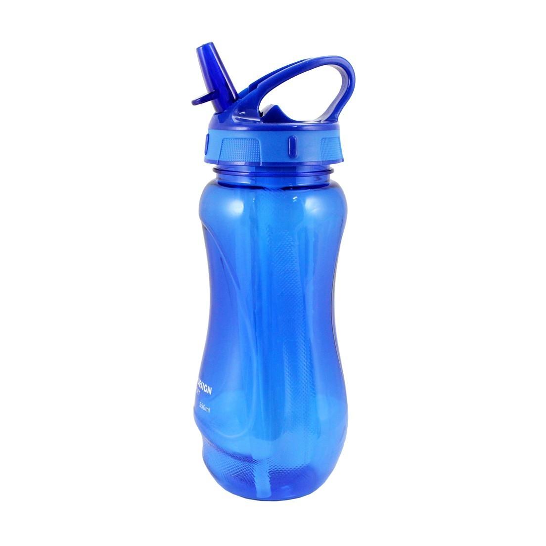 Garrafa Squeeze 525ml com Canudo Retrátil Jacki Design