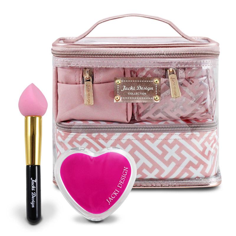 Kit Beauty com Necessaire 4 em 1 e Espelhinho e Pincel Gota