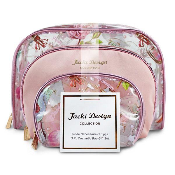 Kit de Necessaire de 3 Peças Doce Encanto Jacki Design