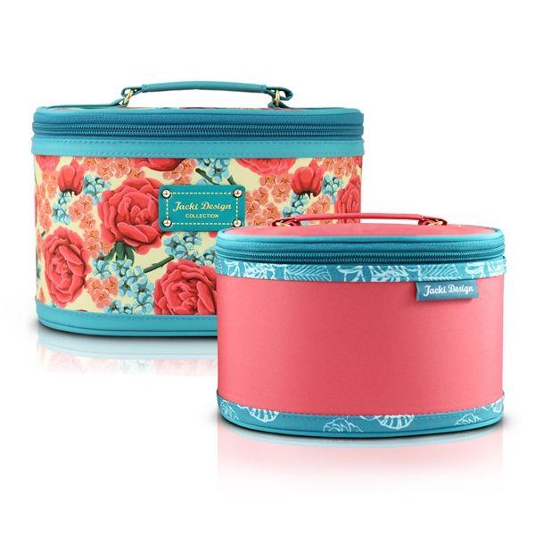 Kit Necessaire 2 em 1 Floral Jacki Design