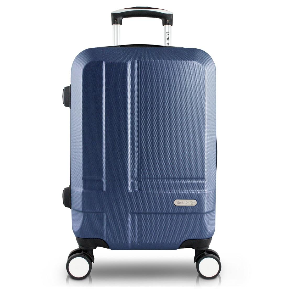 Mala de Bordo para Viagem Executiva Azul Jacki Design
