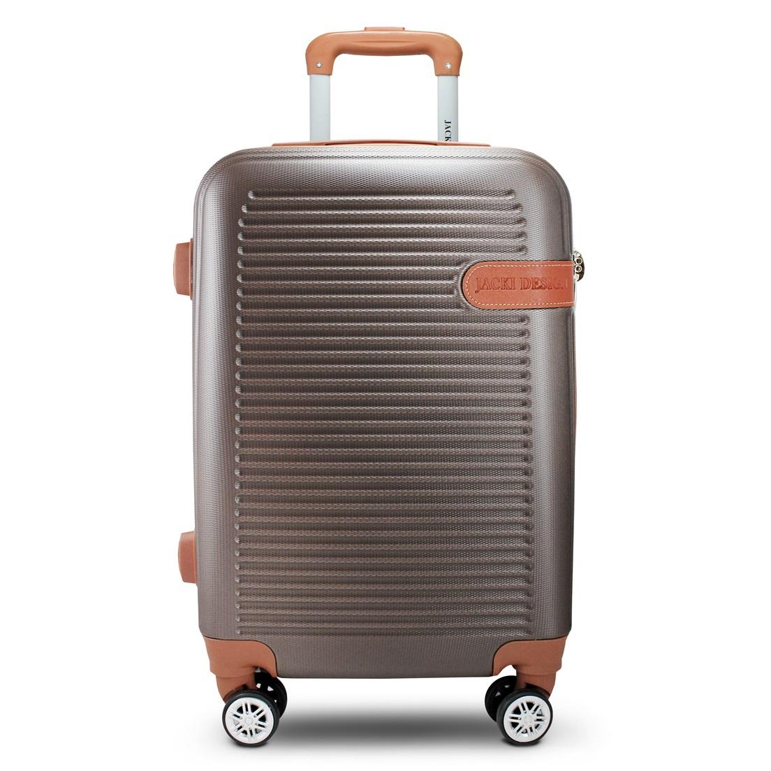 Mala de Bordo para Viagem Premium Bronze Jacki Design