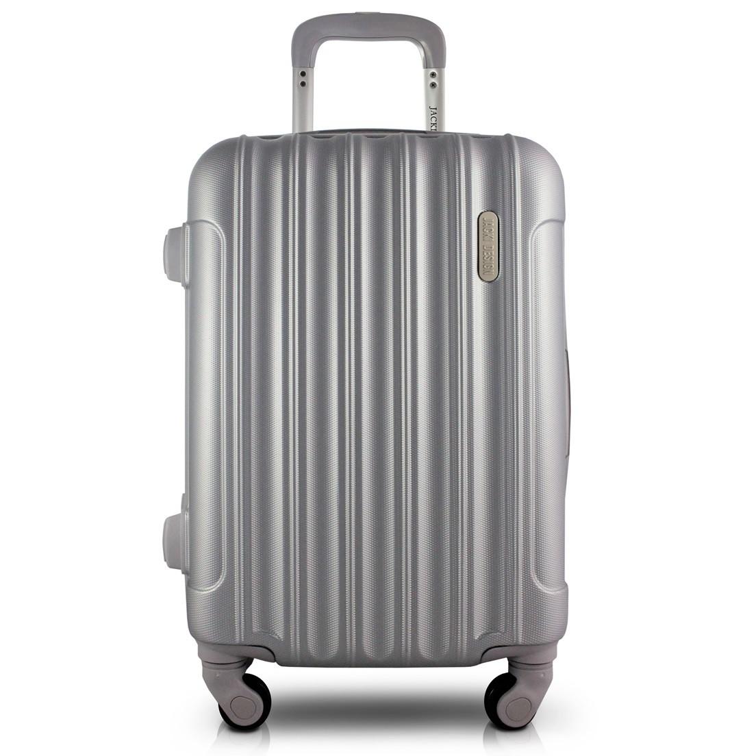 Mala de Bordo para Viagem Trip Prata Jacki Design