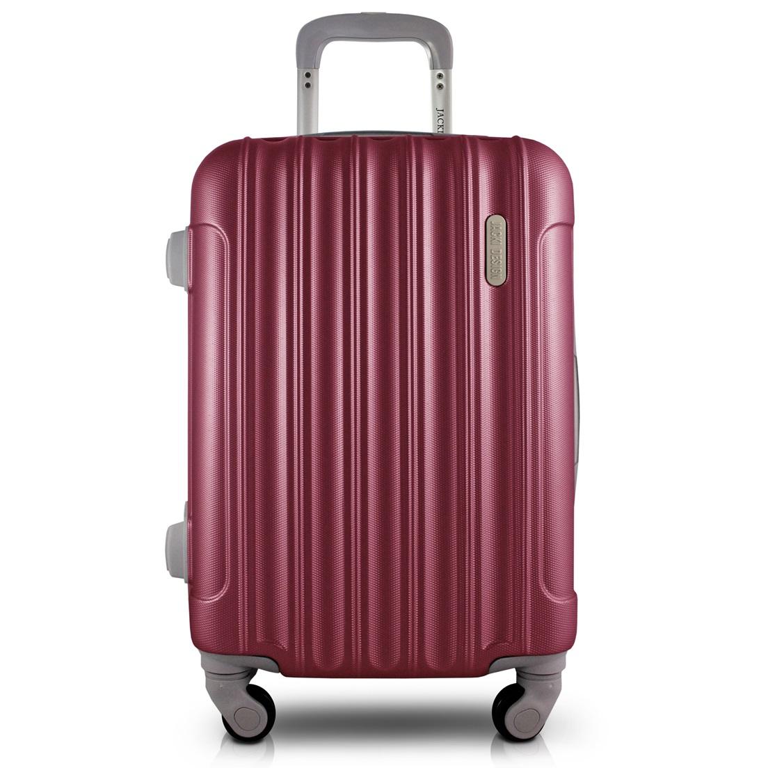 Mala de Bordo para Viagem Trip Vinho Jacki Design