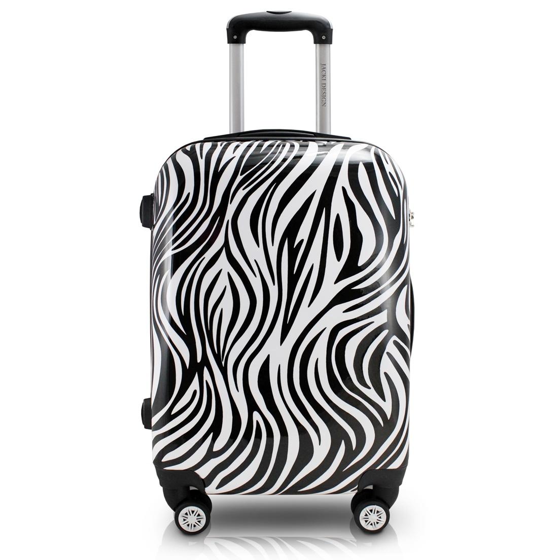 Mala de Bordo para Viagem Zebra Jacki Design