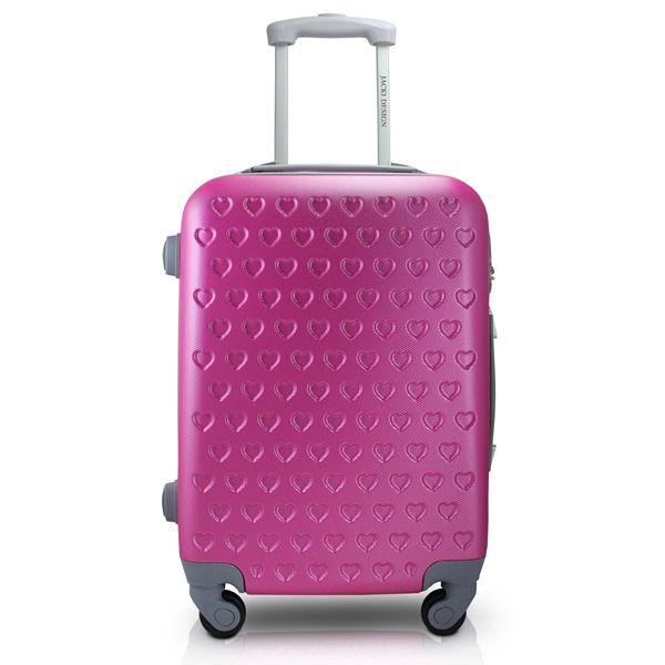 Mala de Viagem Love Jacki Design Viagem Pink