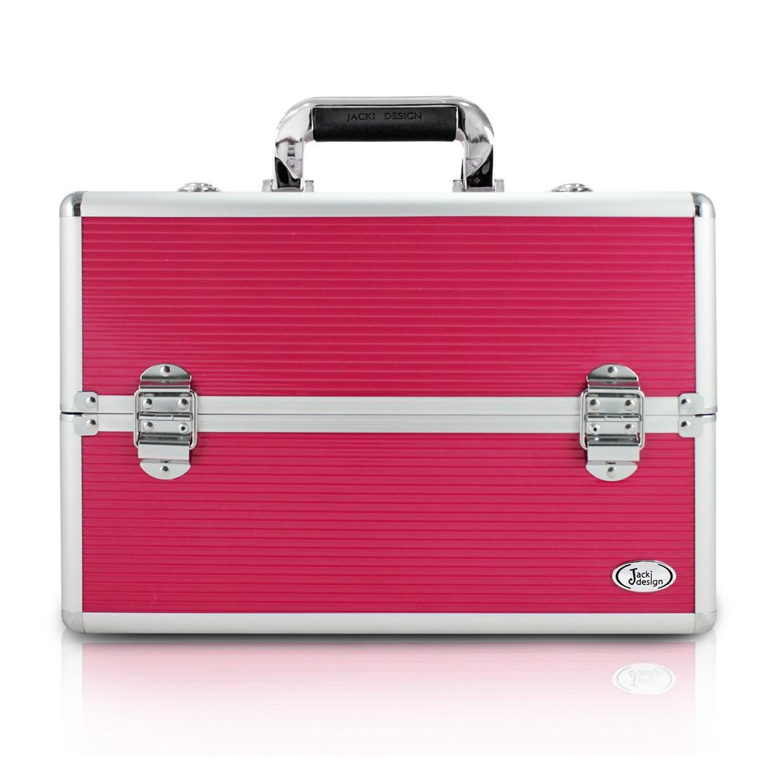 Maleta Profissional de Maquiagem Pink Jacki Design