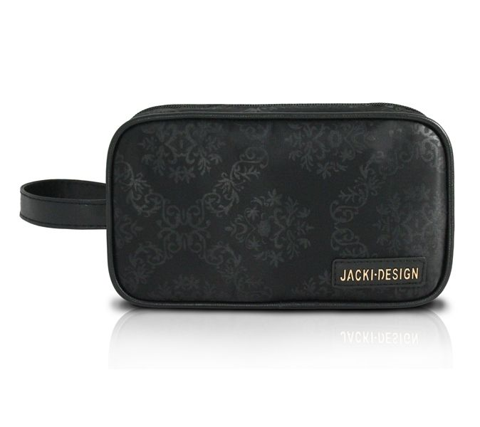 Necessaire com Alça Lateral Damasco Essencial II Jacki Design
